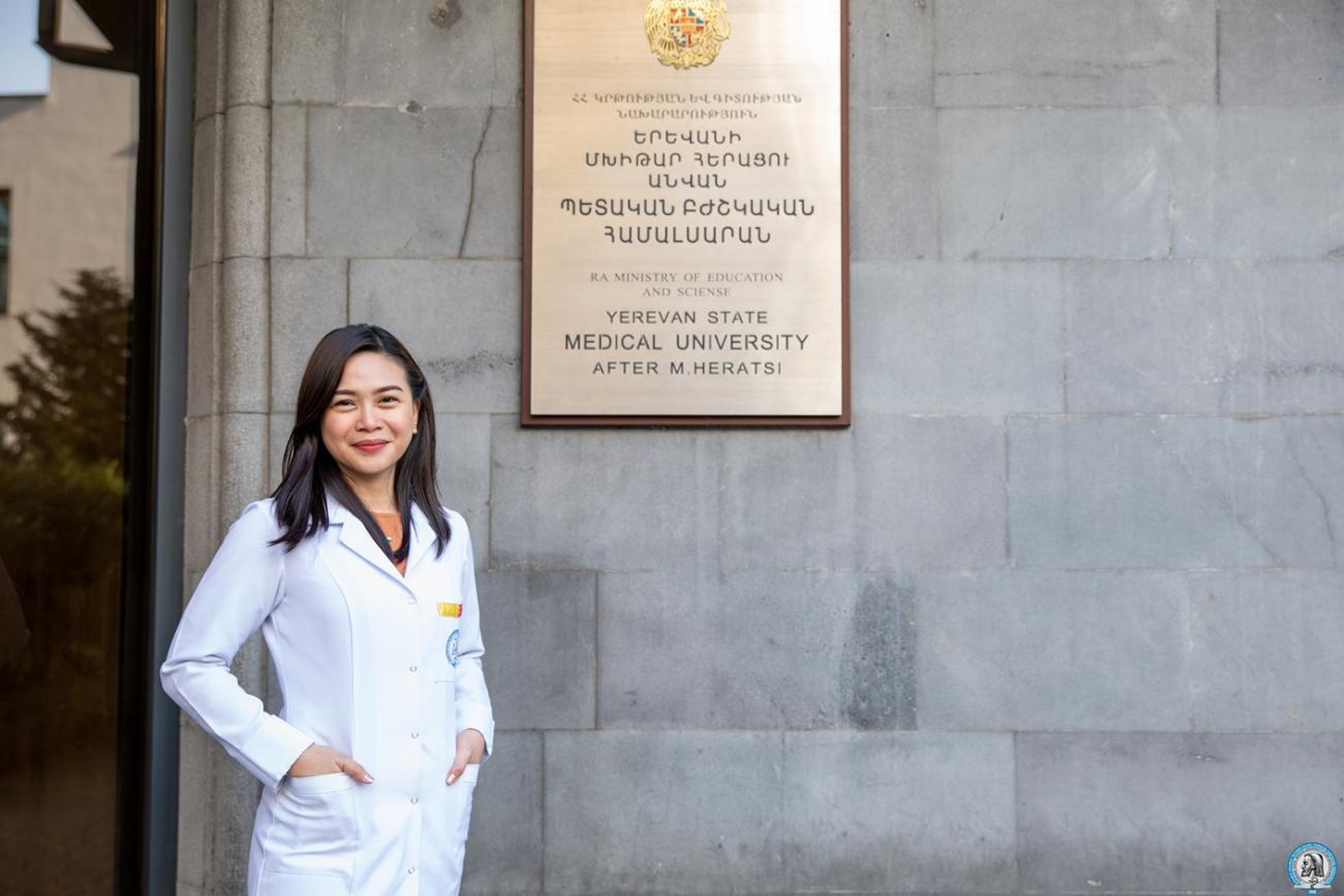 Բժիշկ դառնալը մանկության երազանք էր ֆիլիպինցի ուսանողուհու համար