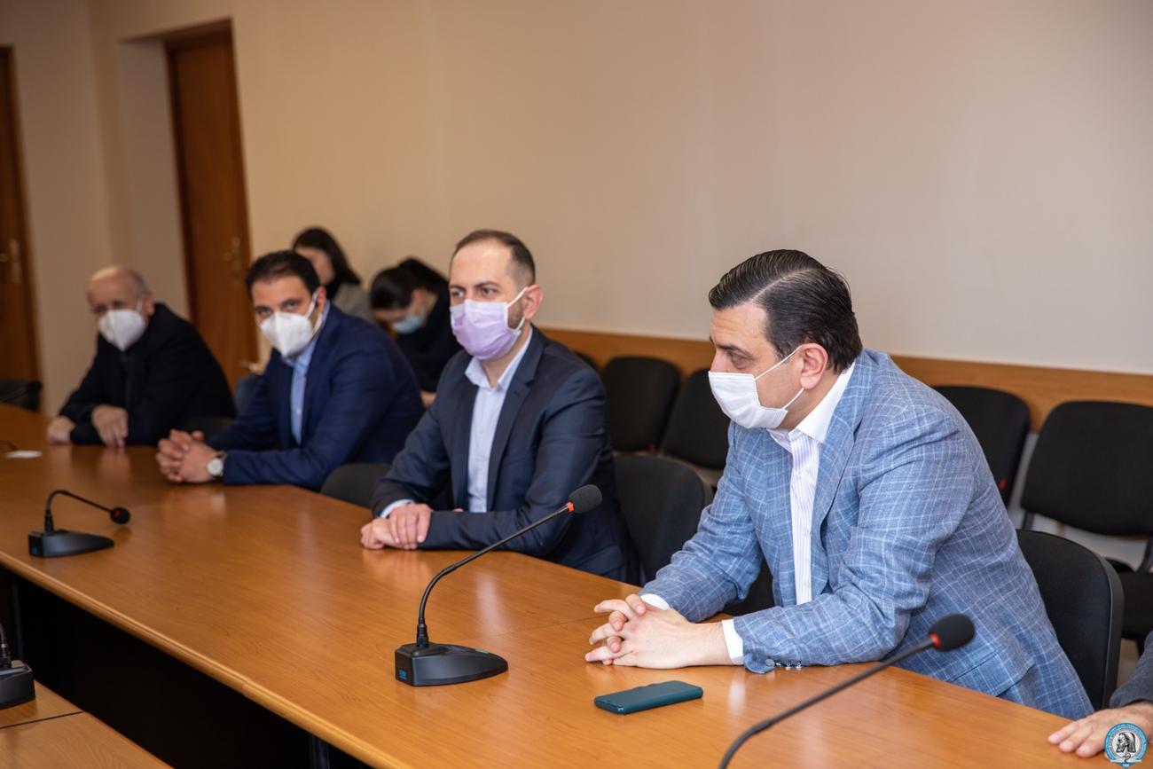 Քննարկվեցին բժշկագիտության ոլորտում հայ-ֆրանսիական համագործակցության ընդլայնման հնարավորությունները