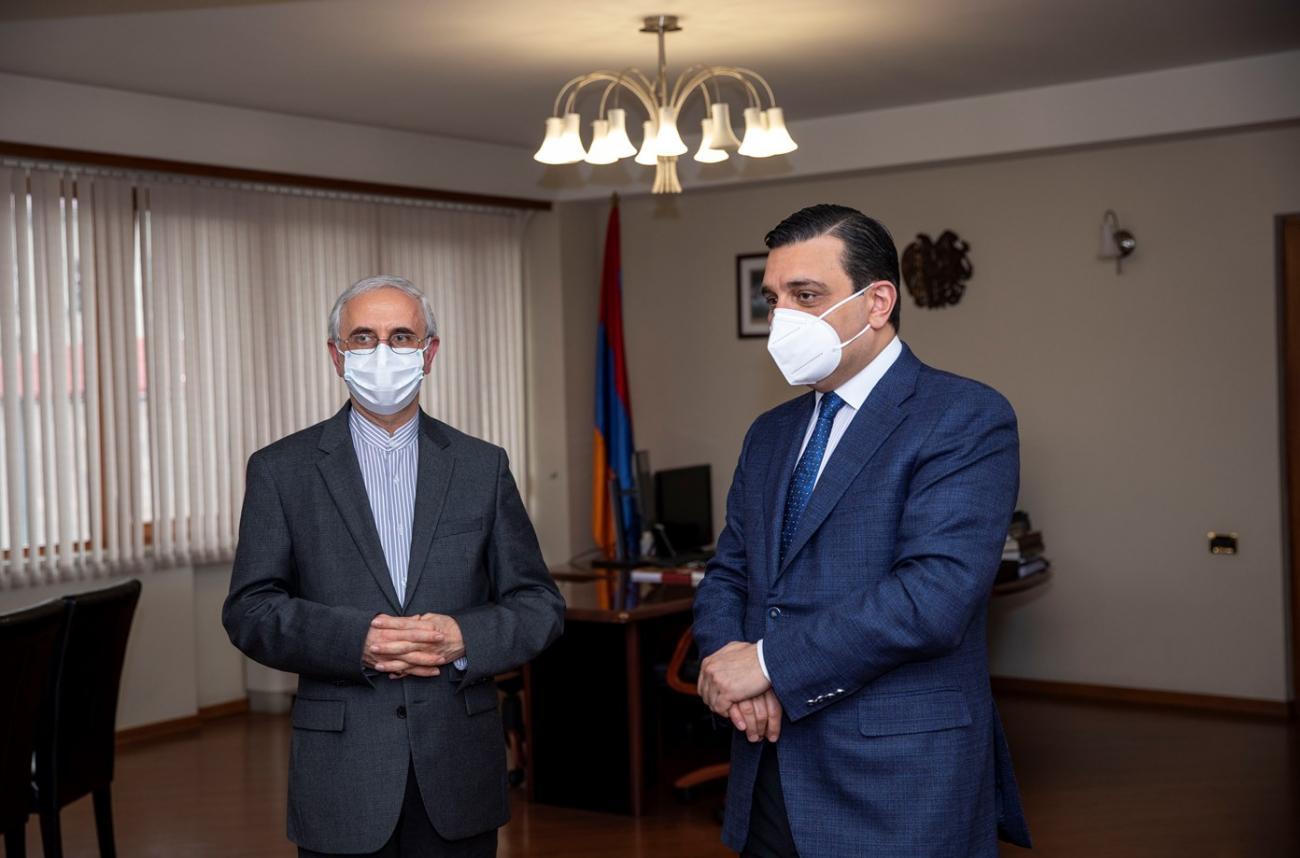ԵՊԲՀ ռեկտորը և Իրանի դեսպանը քննարկեցին համագործակցության հեռանկարները