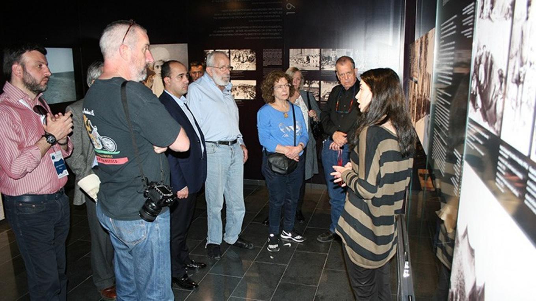 Նոբելյան մրցանակակիր գիտնականները գրառումներ են թողել ՀՑԹԻ պատվավոր հյուրերի Հուշամատյանում