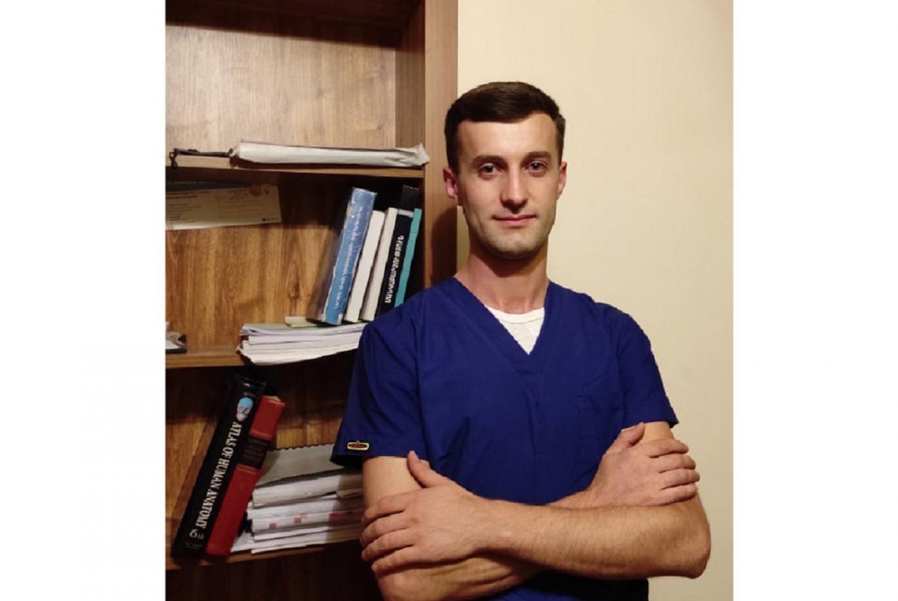 Վերին Կարմիրաղբյուրից ապագա բժիշկը ճակատ է մեկնել զինվորի ու բժշկի գործը հավասարապես իրականացնելու վճռականությամբ