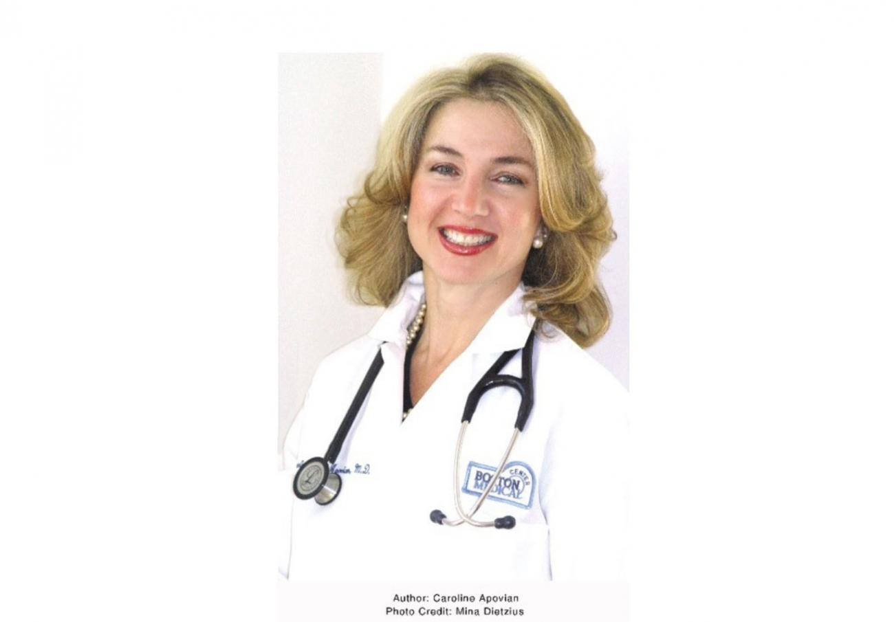 Famous nutrition specialist Caroline Apovian misses genuine and friendly Armenian people