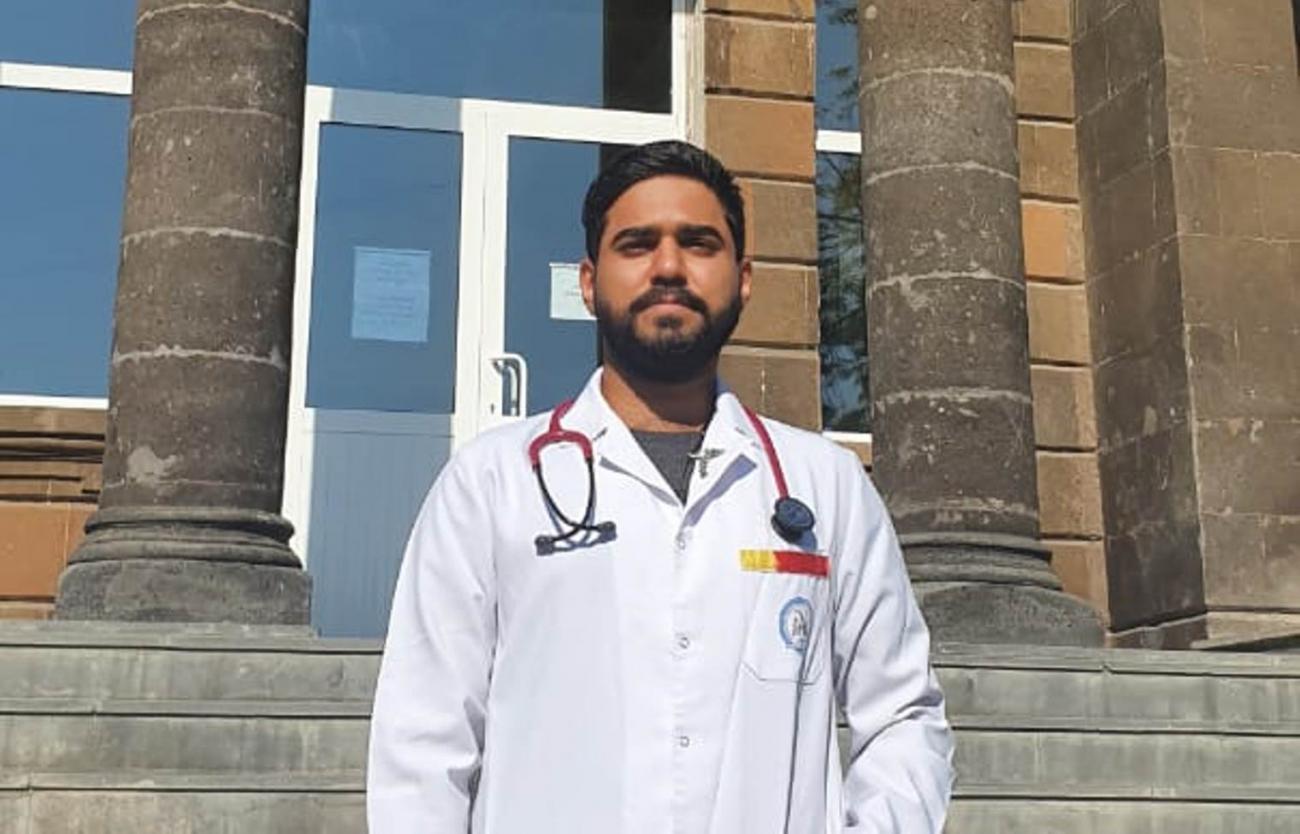 Հնդիկ ուսանողը Երևանը երազանքի քաղաք է համարում