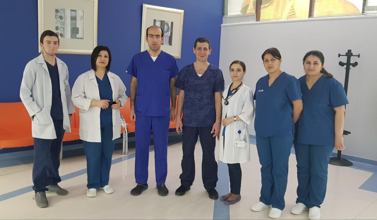 Համալսարանական հիվանդանոցի սրտաբանը Արցախում 8 օրում կատարել է 13 վիրահատություն