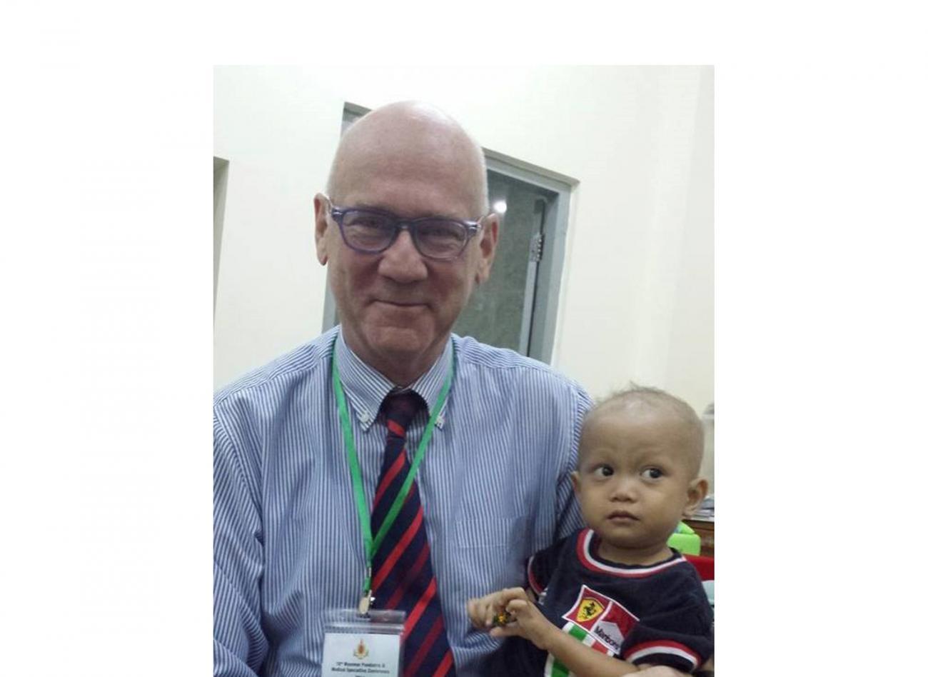 Famous pediatrician Lawrence Faulkner is YSMU visiting professor