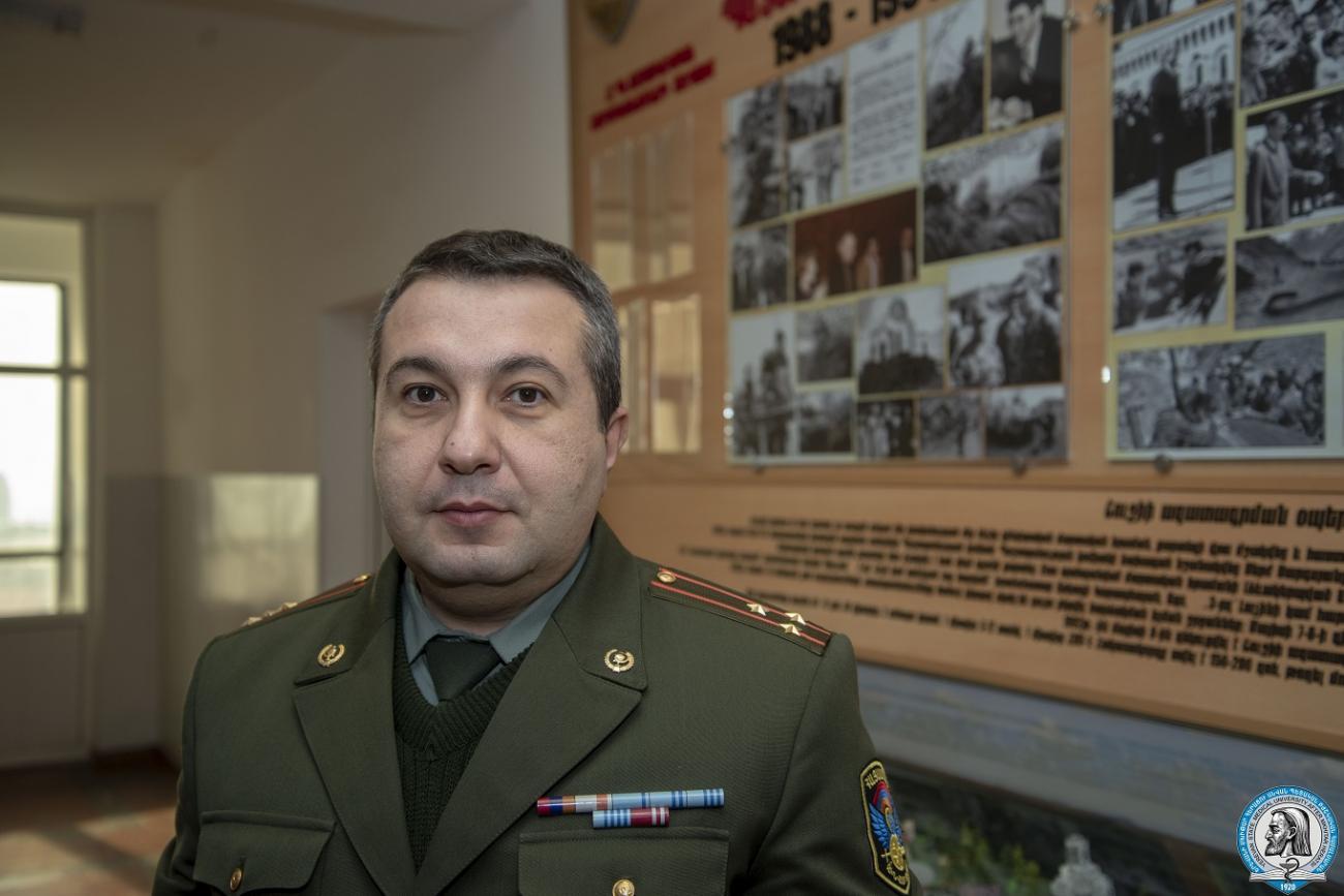 Ռազմաբժշկական կրթությունը Հայաստանում վստահ քայլերով առաջ է ընթանում