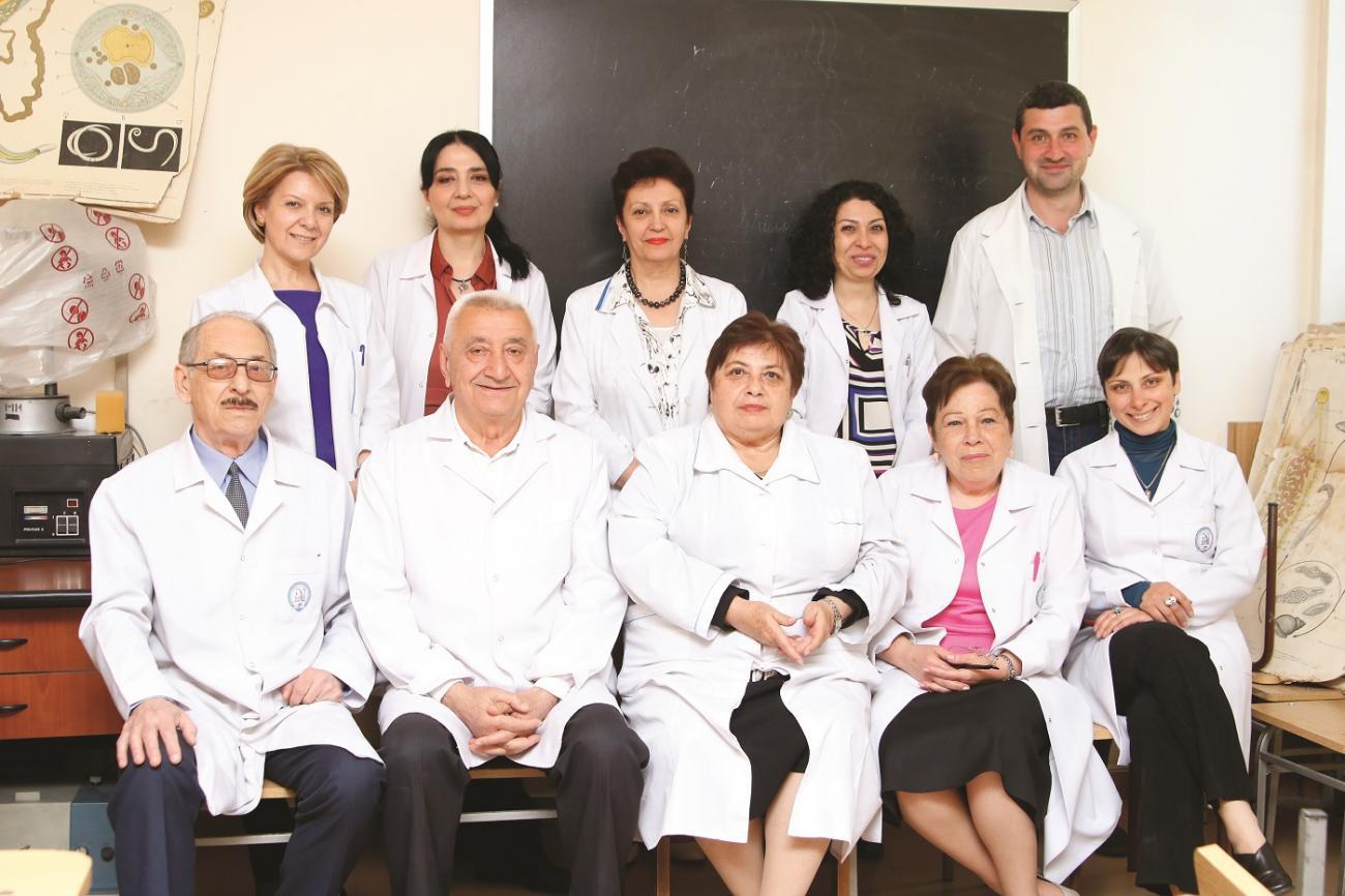 100-ամյակին ընդառաջ ներկայացնում ենք բժշկական կենսաբանության ամբիոն