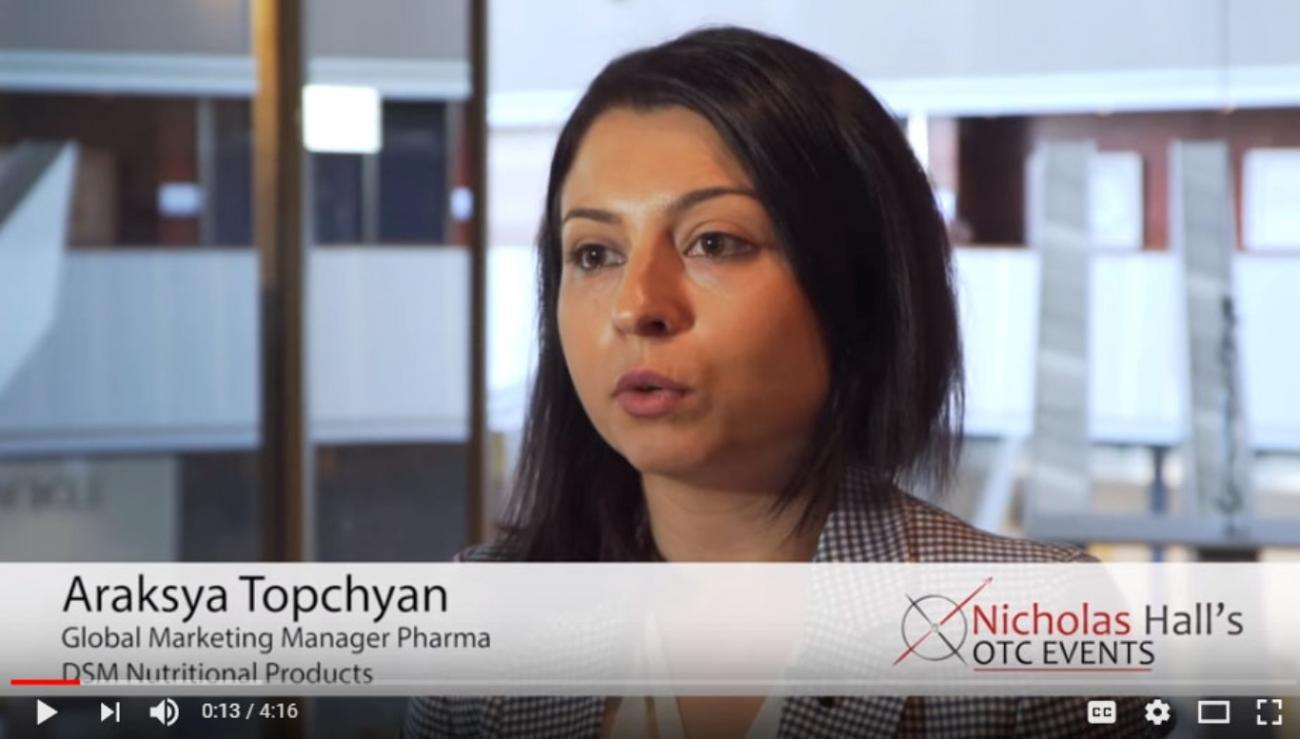 Interview with DSM's Araksya Topchyan: Barcelona 2018