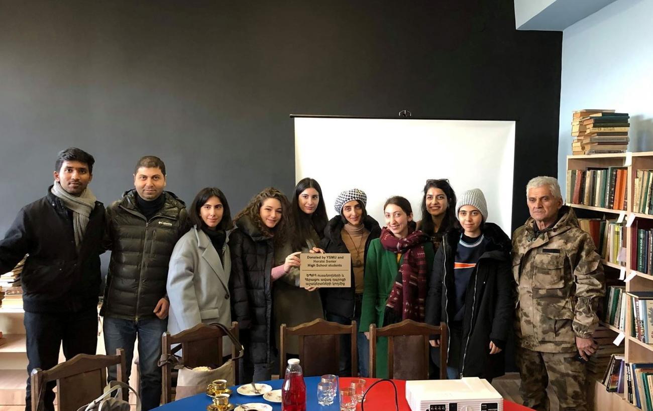 Չինարիում գրադարանի բացումը՝ սոցիալական կարևոր նախաձեռնություն