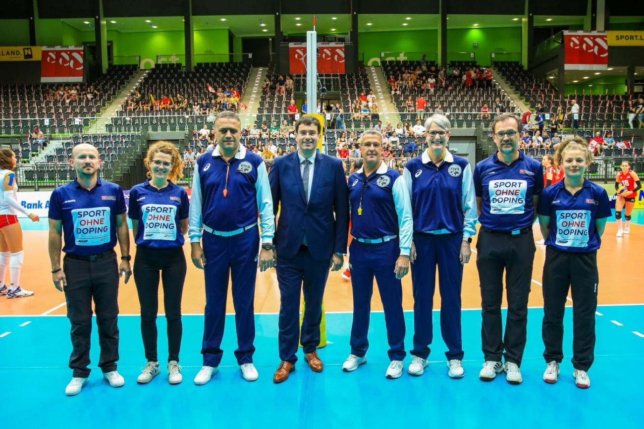 ԵՊԲՀ դասախոսը որպես վոլեյբոլի միջազգային միակ մրցավար Հայաստանը ներկայացնում է արտերկրում