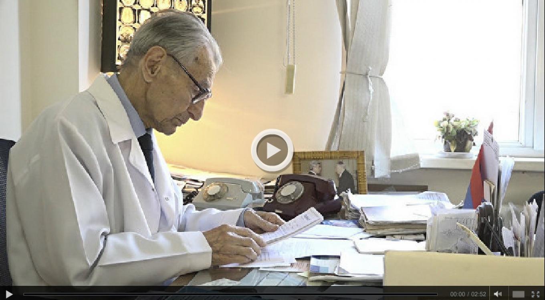 Հայաստանում նյարդավիրաբուժության հիմնադիրը տոնում է իր 96-ամյակը
